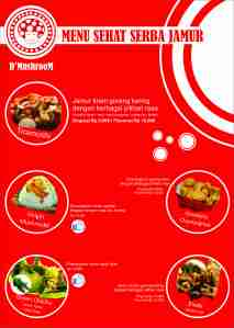 menu dmushroom foodcourt