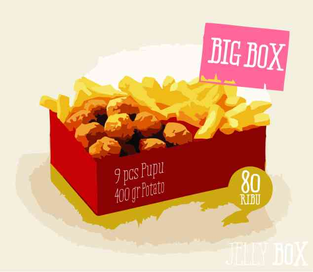 jelly box big box