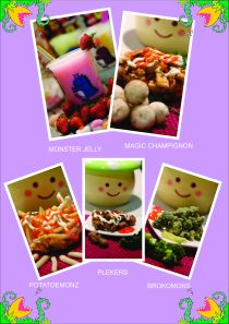 menu Monsterjelly n Friens