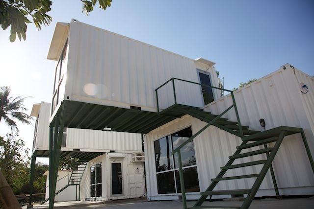 Rumah Container Pusat Kos Kosan Dan Rumah Usaha